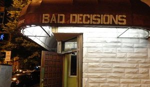 Baltimore Casual Date Location 2 - Bad Decisions